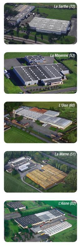 usines